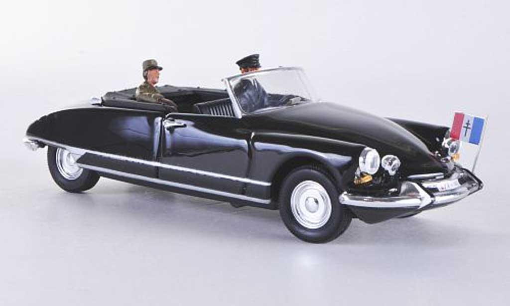Citroen DS Cabriolet 1/43 Rio Djibouti General de Gaulle 1959 miniature