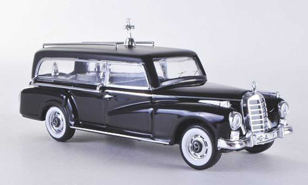 Mercedes 300 D 1/43 Rio Bestattungswagen 1960 diecast model cars