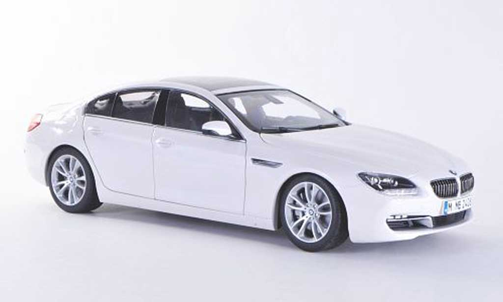 Bmw 640 F06 1/18 Paragon i Gran Coupe white 2012 diecast