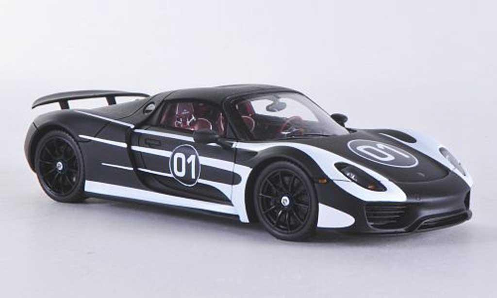 porsche 918 2013 miniature spyder prougeotyp spark 1 43 voiture. Black Bedroom Furniture Sets. Home Design Ideas