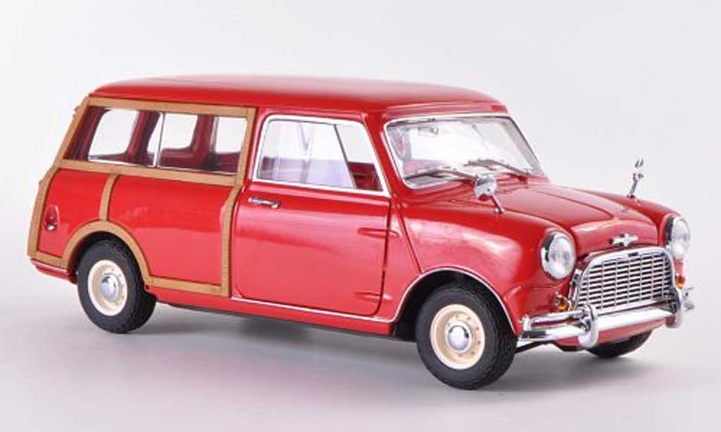 Austin Mini Morris 1/18 Kyosho Traveller red RHD diecast model cars