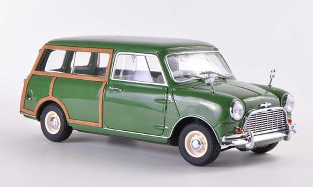 Austin Mini Morris 1/18 Kyosho Traveller grun RHD miniature
