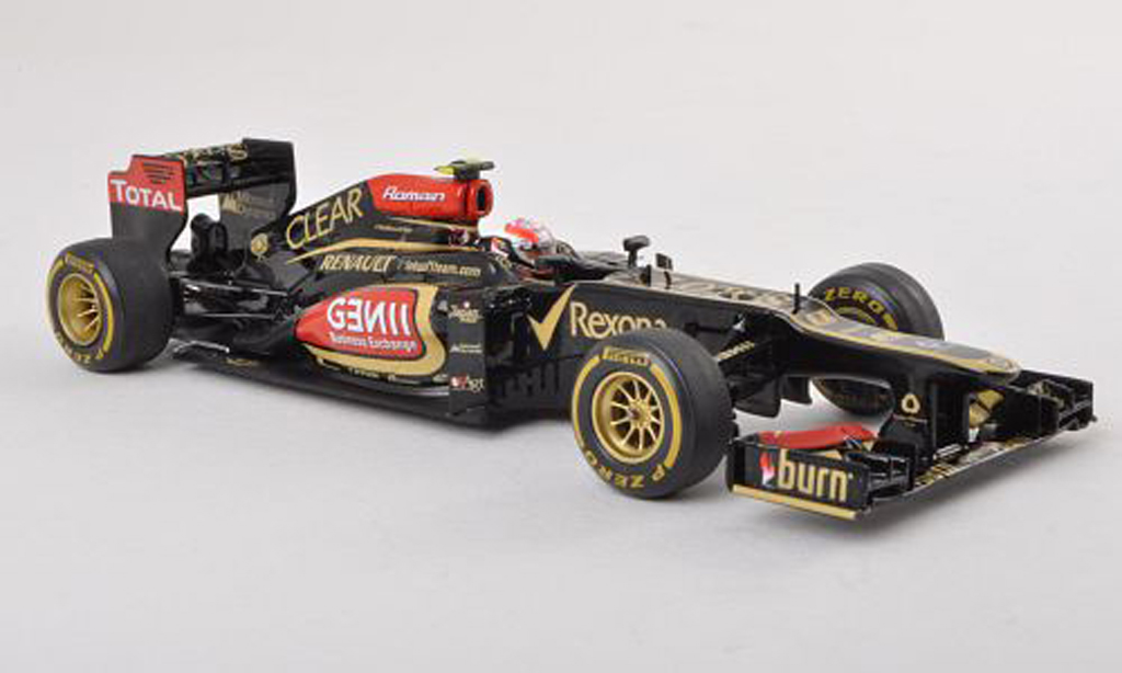 Lotus F1 2013 1/43 Spark E21 Renault No.8 GP Australie R.Grosjean miniature