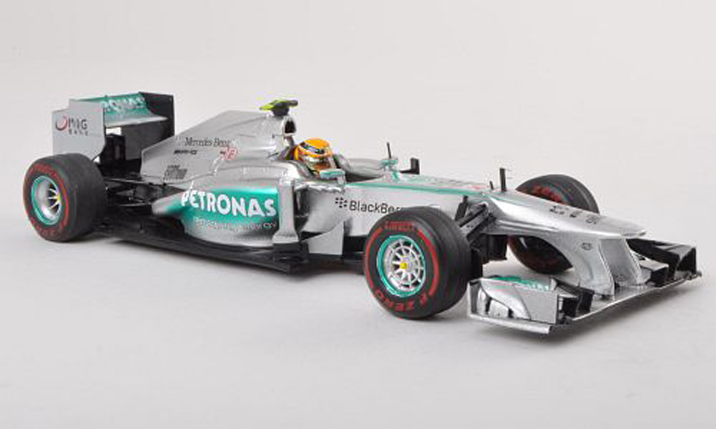 Mercedes F1 2013 1/43 Spark W04 No.10 Petronas GP Australie L.Hamilton miniature