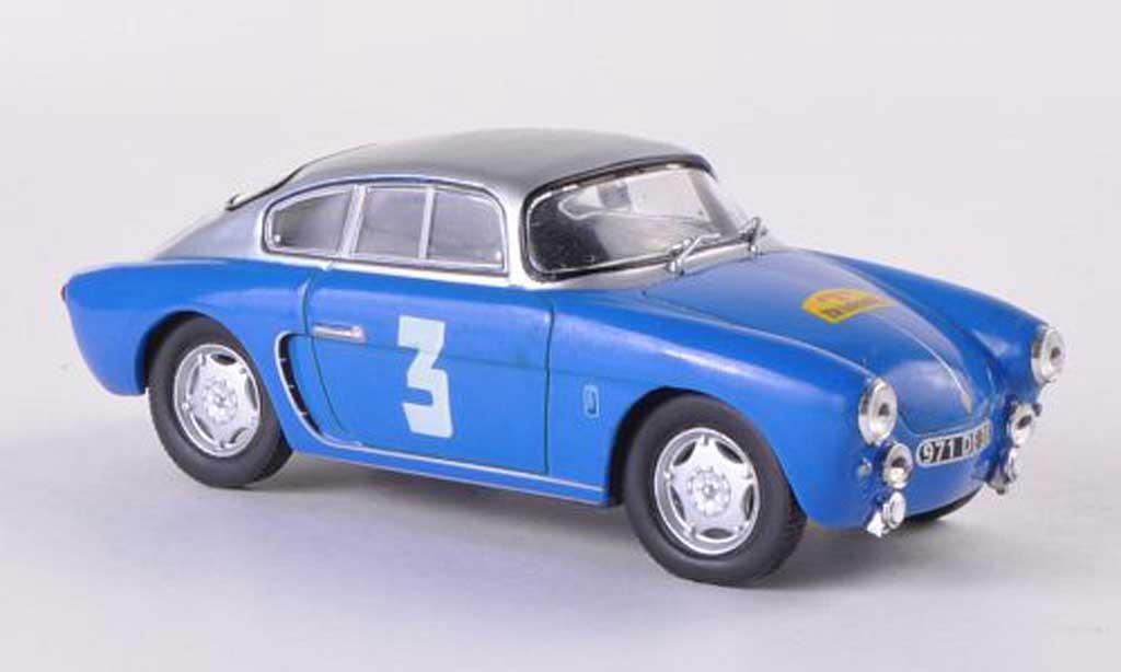 Alpine Redele speciale 1/43 Eligor No.03 Lyon-Charbonnieres 1955 miniature
