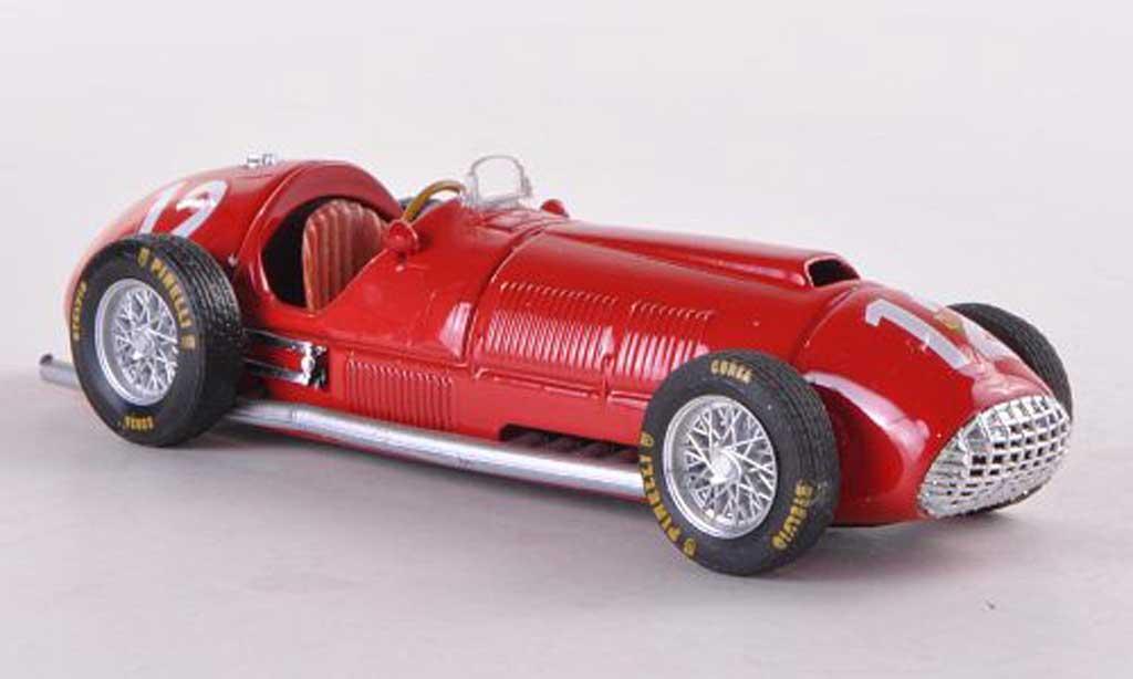 Ferrari 375 1/43 Brumm Nr.12 F.Gonzales British GP 1951 1st victory in Formula 1 miniature