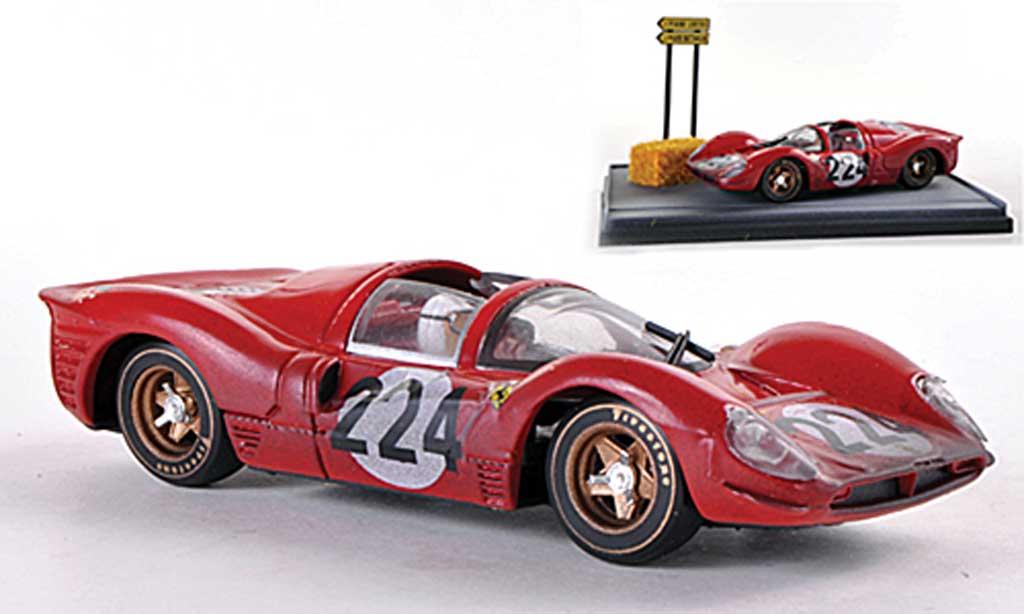 Ferrari 330 P4 1/43 Brumm No.224 Nino Vaccarella Targa Florio 1967 miniature