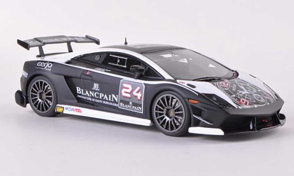 Lamborghini Gallardo LP560-4 1/43 Look Smart Super Trofeo No.24 Blancpain  2009 M.A.Hayek/P.Kox miniature