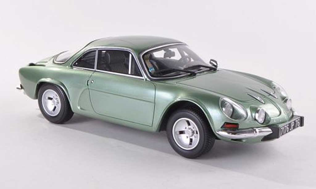 Alpine A110 1/18 Ottomobile 1600 SX grun diecast model cars
