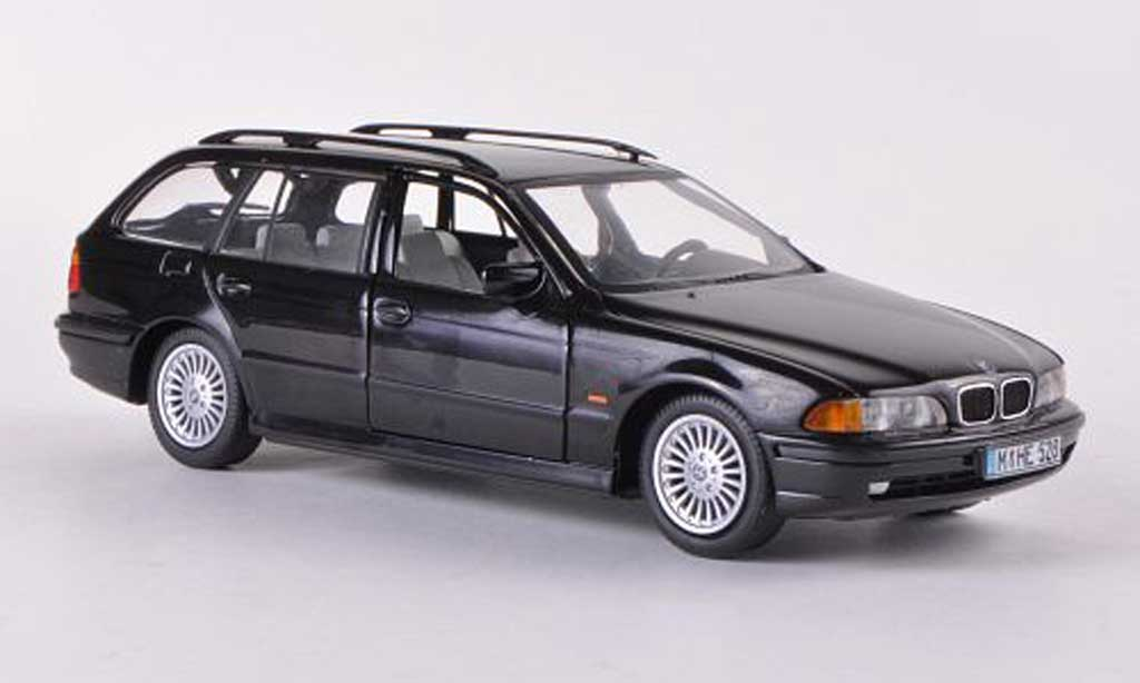 Bmw 528 1/43 Schuco i Touring (E39) noire 1997 miniature