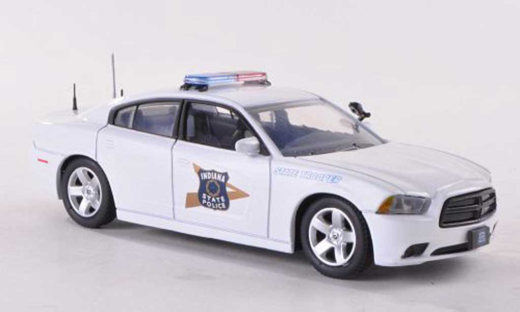 Dodge Charger Police 1/43 First Response Indiana State Polizei (US) 2012 miniature