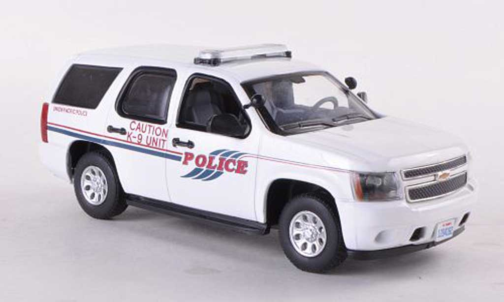 Chevrolet Tahoe 1/43 First Response Union Pacific Railroad Police K-9 Unit Polizei (US) 2011 miniature