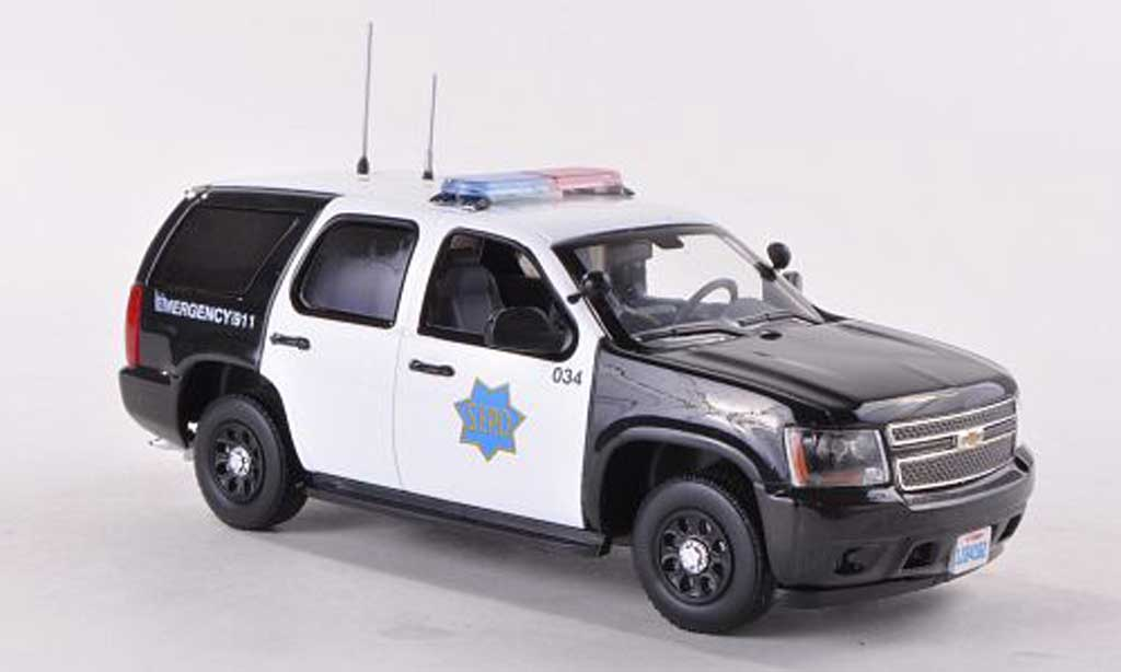 Chevrolet Tahoe 1/43 First Response San Francicso Police Department - S.F.P.D. Polizei (US) 2011 miniature
