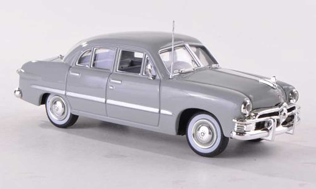 Ford Custom 1950 1/43 American Heritage Models 4-Door Sedan grise miniature