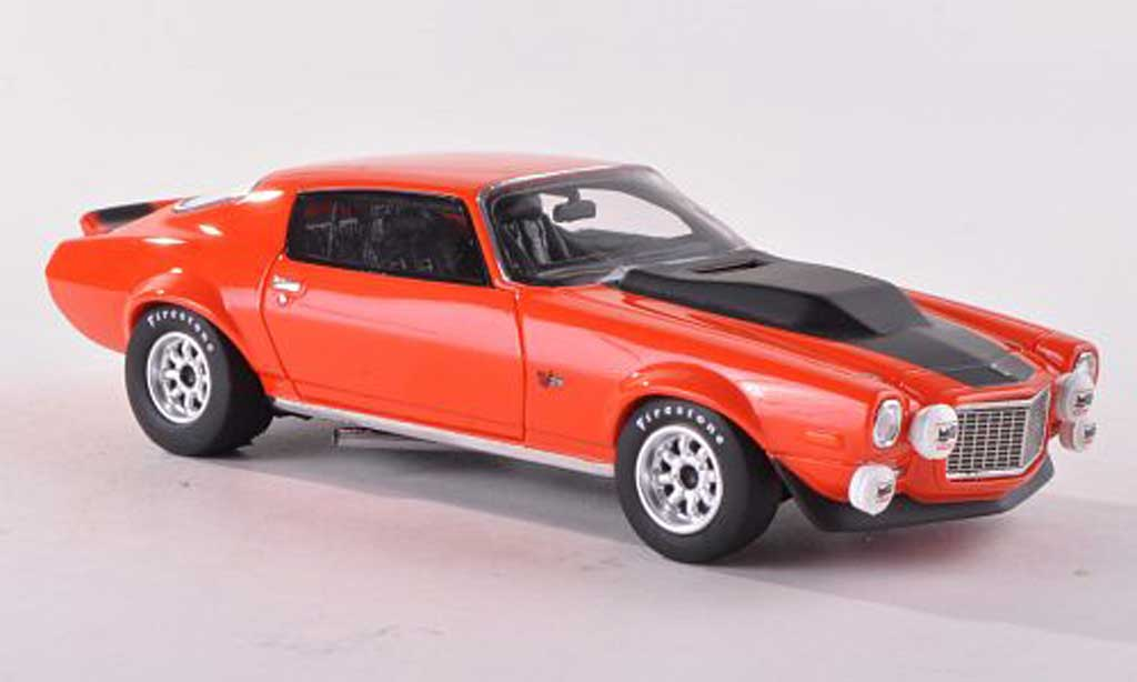 Chevrolet Camaro Z28 1/18 Premium X Ready To Race rouge/noire 1971 miniature