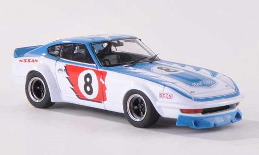 Nissan Fairlady Z 240 ZR 1/43 Ebbro 240ZR No.8 1000km Fuji 1973 K.Takahashi/K.Tohira diecast model cars