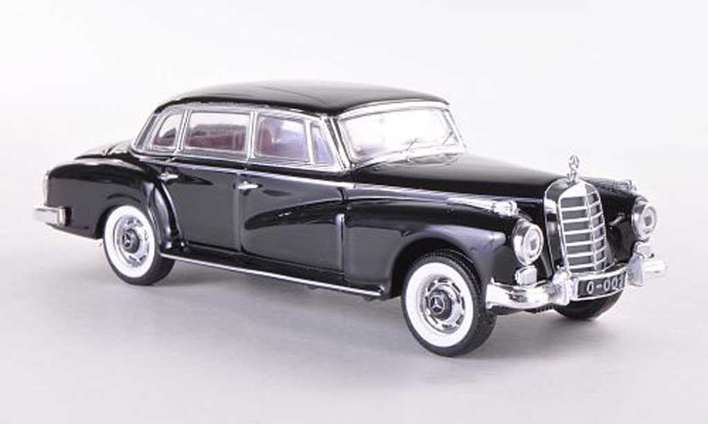 Mercedes Adenauer 1/43 Rio black 1951 diecast model cars