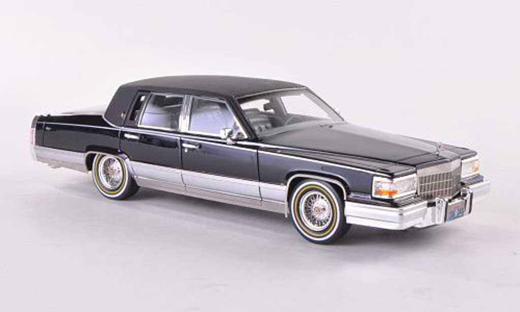 Cadillac Brougham 1/43 GLM matt noire  1991 miniature