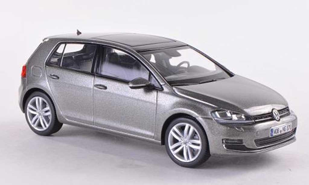 Volkswagen Golf VII 1/43 Herpa graubraun 5-Turer 2013 modellautos