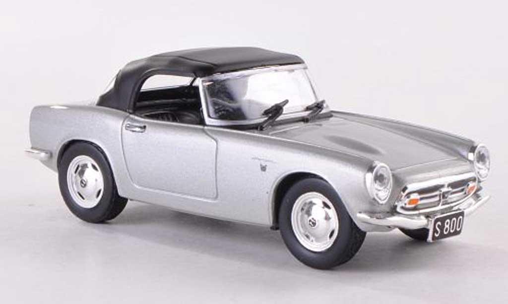 Honda S800 Cabriolet graygray Verdeck geschlossen 1967 MCW. Honda S800 Cabriolet graygray Verdeck geschlossen 1967 miniature 1/43