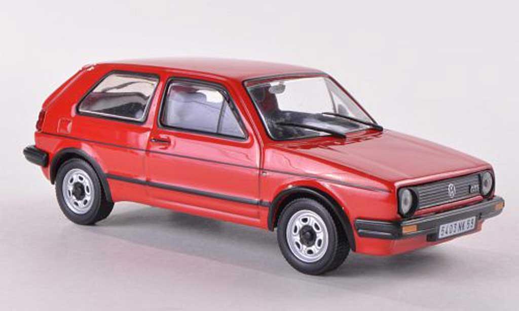 volkswagen golf 2 gti rot 1984 mcw modellauto 1 43. Black Bedroom Furniture Sets. Home Design Ideas