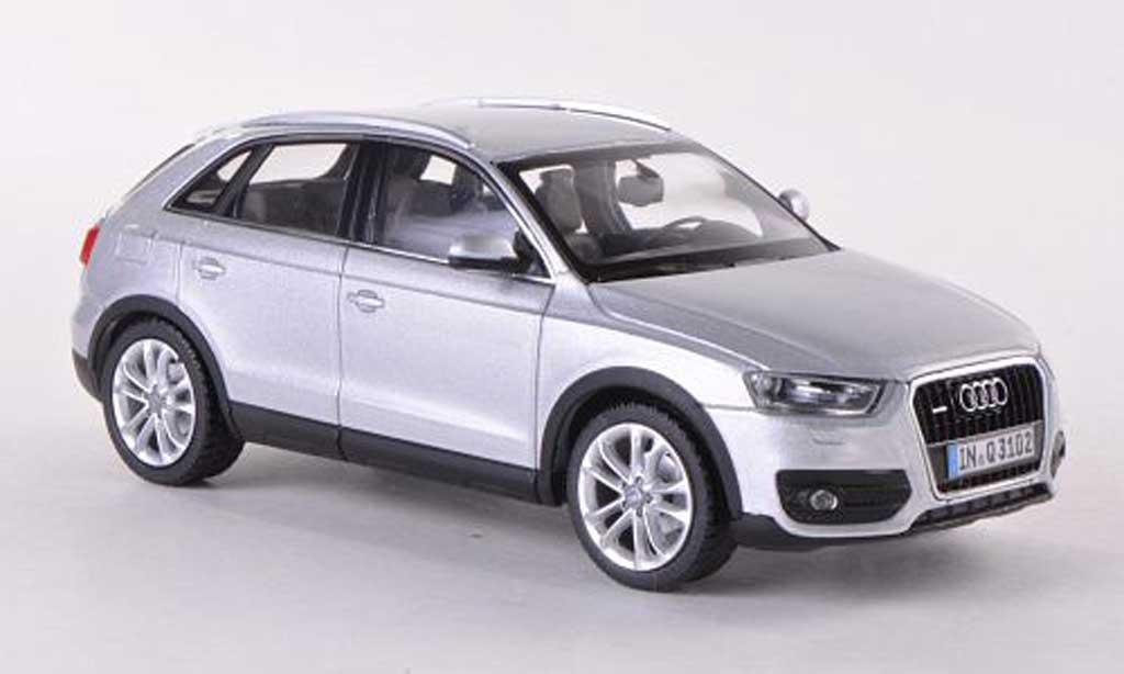 audi q3 silber 2011 schuco modellauto 1 43 kaufen verkauf modellauto online. Black Bedroom Furniture Sets. Home Design Ideas