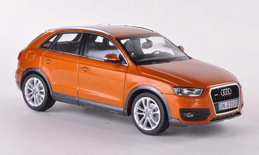 Audi Q3 1/43 Schuco orange 2011 miniature