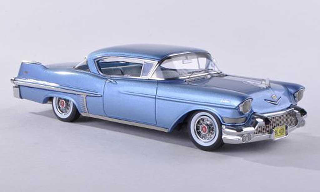 Cadillac Series 62 1957 1/43 Neo Hardtop Coupe bleu miniature
