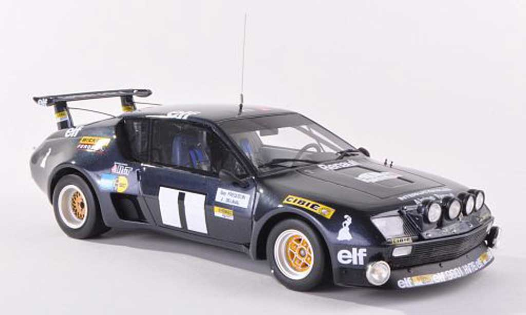 Alpine A310 1/18 Ottomobile Gr.5 No.1 Gitanes Rally du Var 1976 G.Frequelin/L.Delaval diecast model cars