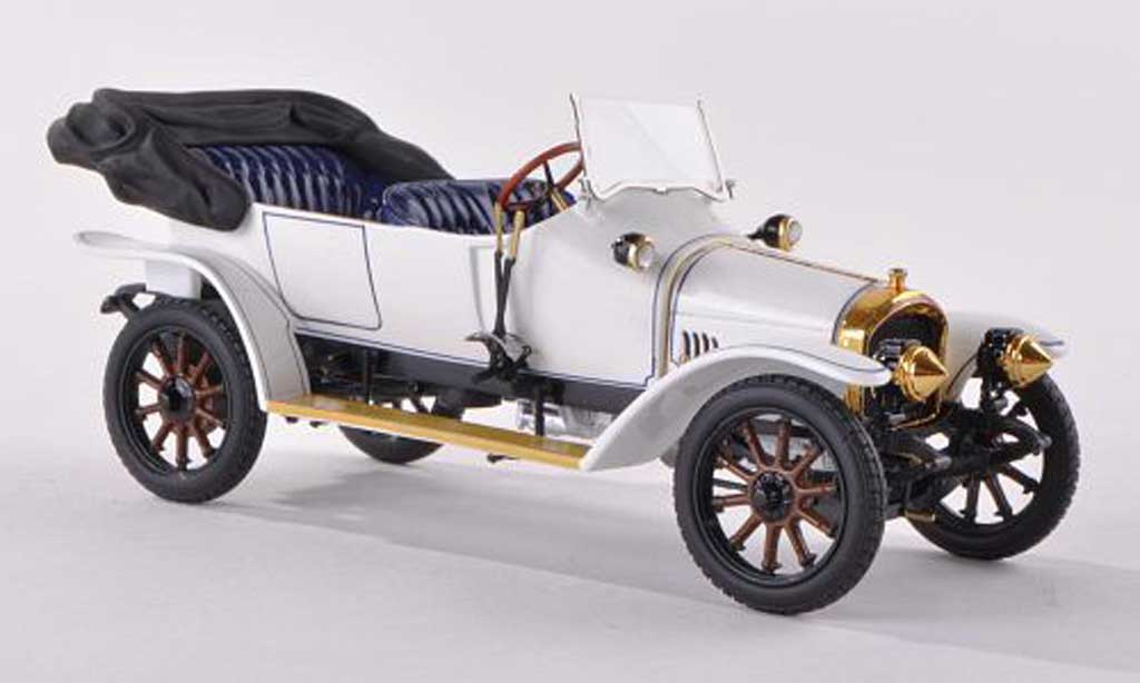 Audi Typ A Phaeton 1/43 Minichamps Phaeton blanche/bleu 1910 miniature