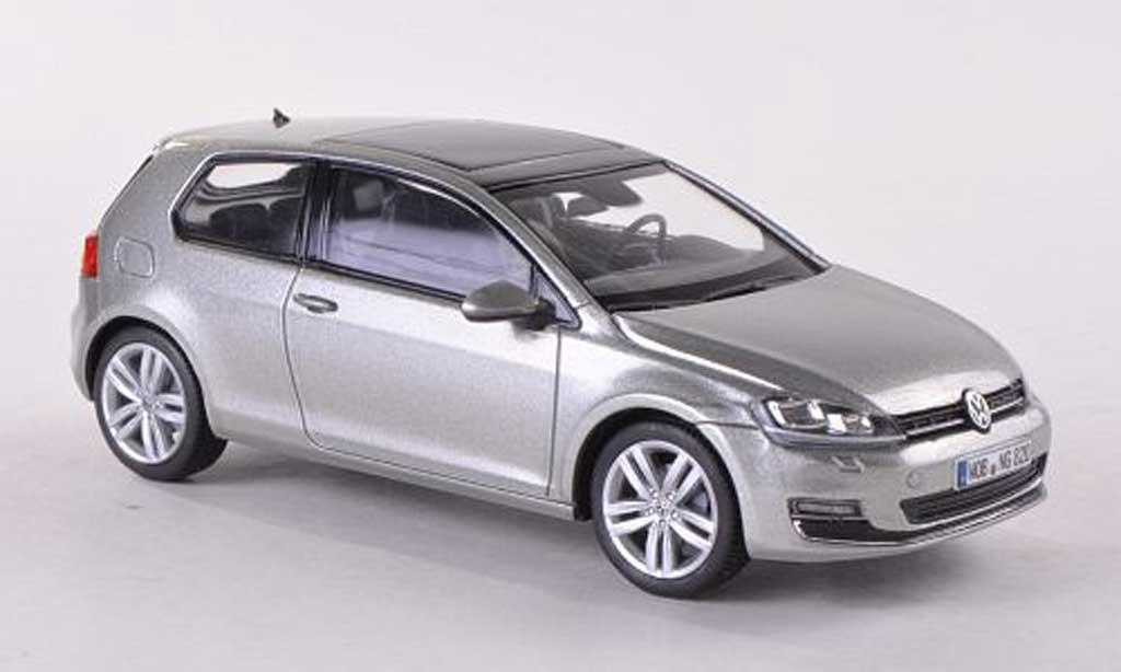 volkswagen golf vii miniature grise 3 turer 2013 herpa 1 43 voiture. Black Bedroom Furniture Sets. Home Design Ideas