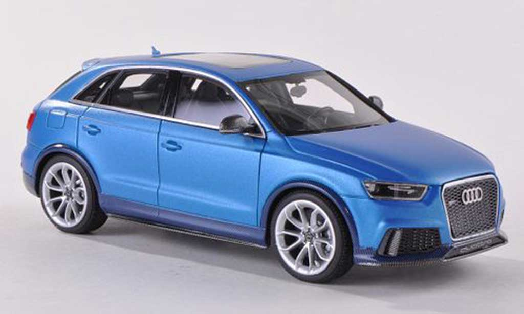 Audi RS Q3 1/43 Look Smart Concept mattbleue Auto China Peking 2012 miniature