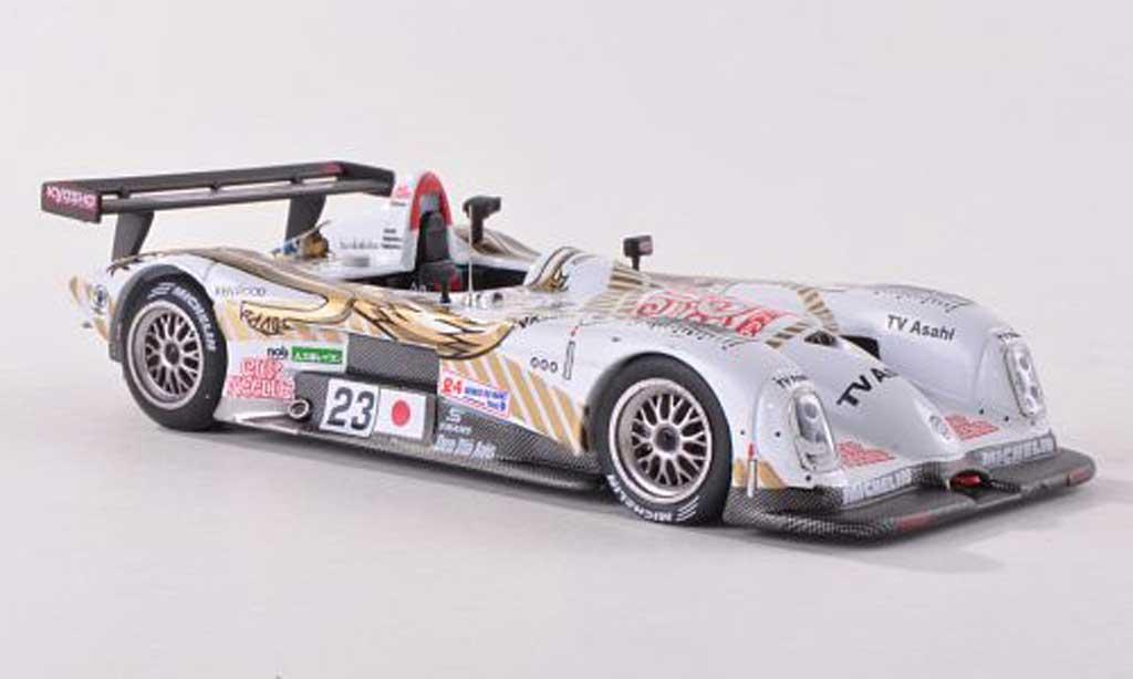 Panoz LMP-1 1/43 IXO Roadster S No.23 TV Asahi Team 24h Le Mans 2000 M.Kageyama/T.Suzuki/M.Kageyama miniature
