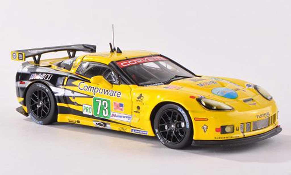 Chevrolet Corvette C6 1/43 IXO ZR1 No.73 Team Chevy GTE PRO 24h Le Mans  2011 O.Beretta/T.Milner/A.Garcia diecast