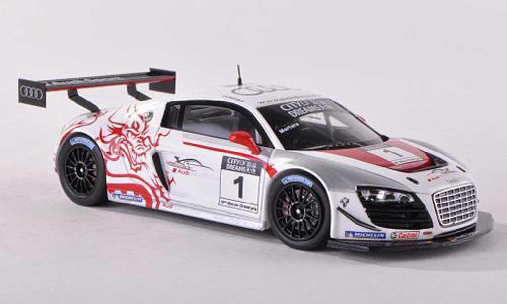 Audi R8 LMS 1/43 Spark ultra No.1 Winner Macau GT Cup 2012 Edoardo Mortara miniature