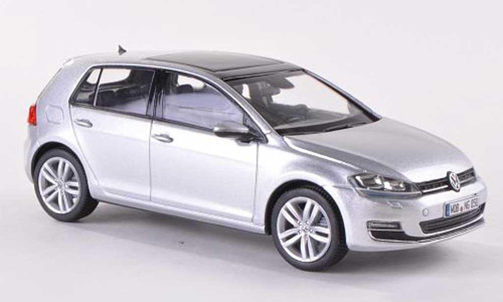 volkswagen golf vii miniature grise 5 turer 2013 herpa 1 43 voiture. Black Bedroom Furniture Sets. Home Design Ideas