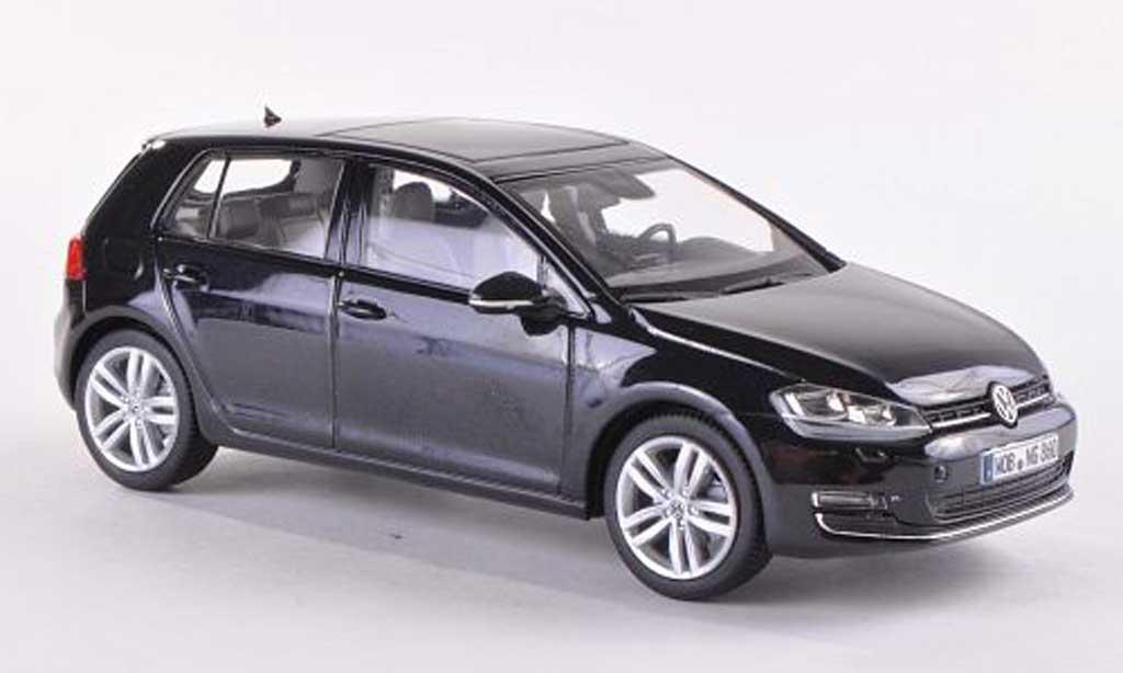 Volkswagen Golf VII 1/43 Herpa noire 5-Turer 2013 miniature