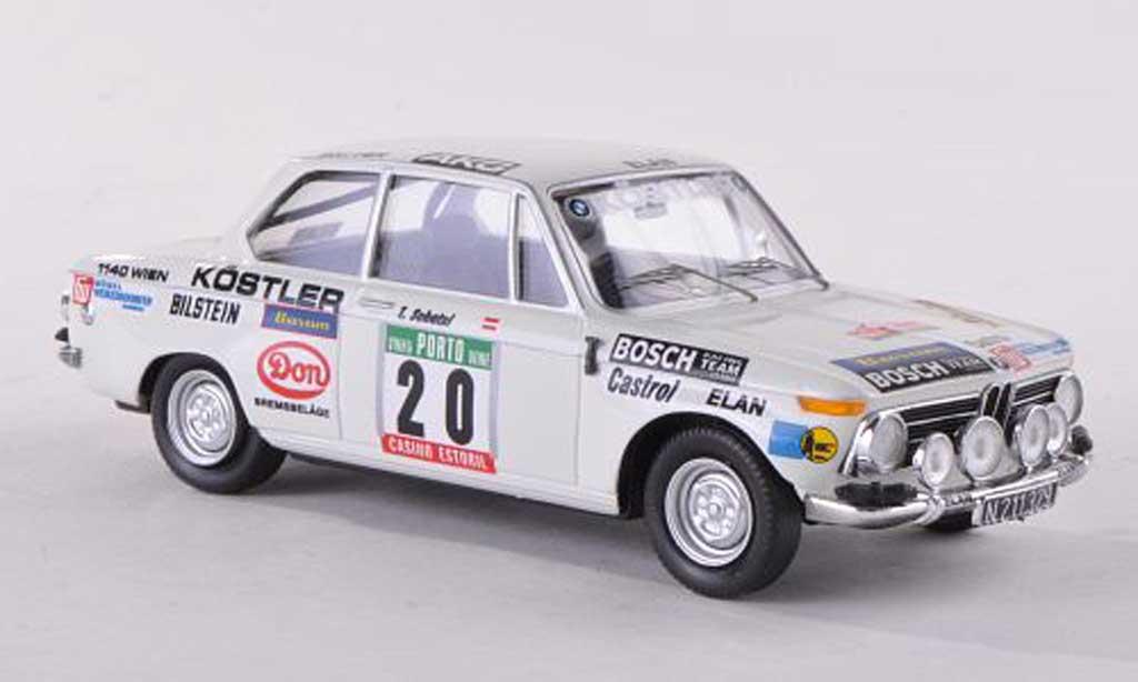 Bmw 2002 Tii 1/43 Trofeu No.20 Rally Portugal  1976 F.Wittmann/T.Schatzl miniature