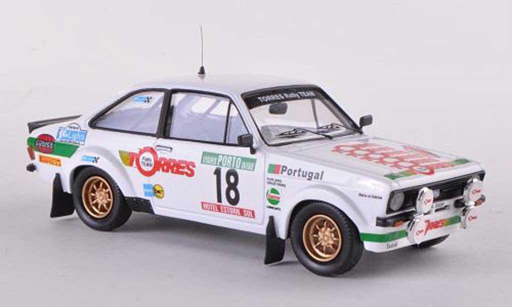 Ford Escort RS 1800 1/43 Trofeu Mk2 No.18 Rally Portugal 1983 C.Torres/F.Lopes