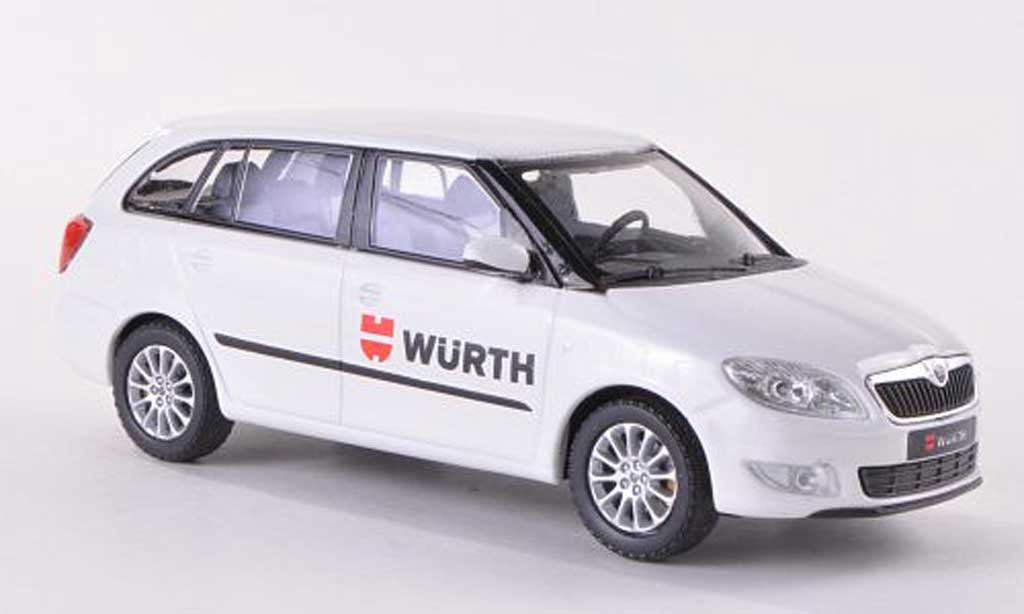 skoda fabia ii miniature combi wurth abrex 1 43 voiture. Black Bedroom Furniture Sets. Home Design Ideas
