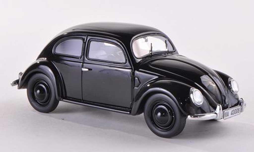 Volkswagen Coccinelle 1/43 Schuco Typ 38/06 noire miniature