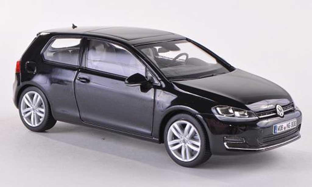 Volkswagen Golf VII 1/43 Herpa noire 3-Turer 2013 miniature