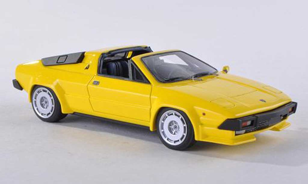 Lamborghini Jalpa 1/43 Look Smart 350 jaune 1986 miniature