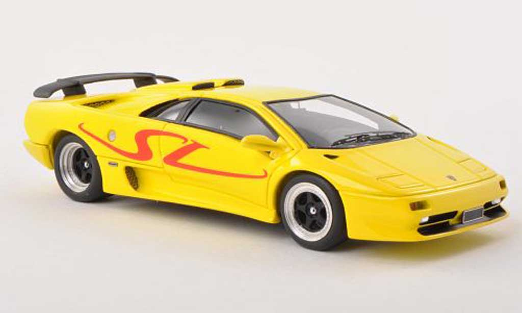 Lamborghini Diablo 1/43 Look Smart SV yellow 1995 diecast model cars