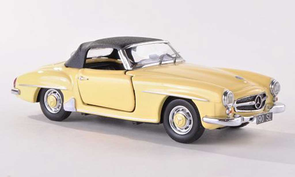 Mercedes 190 SL 1/43 Rio yellow 1955 diecast model cars