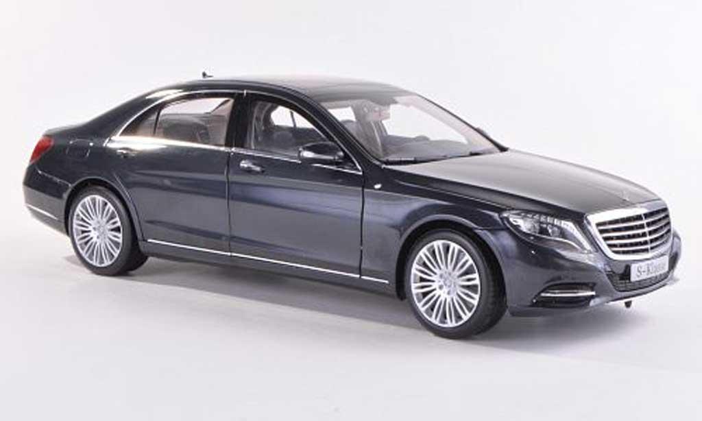 Mercedes Classe S 1/18 Norev (W222) grise 2013 miniature