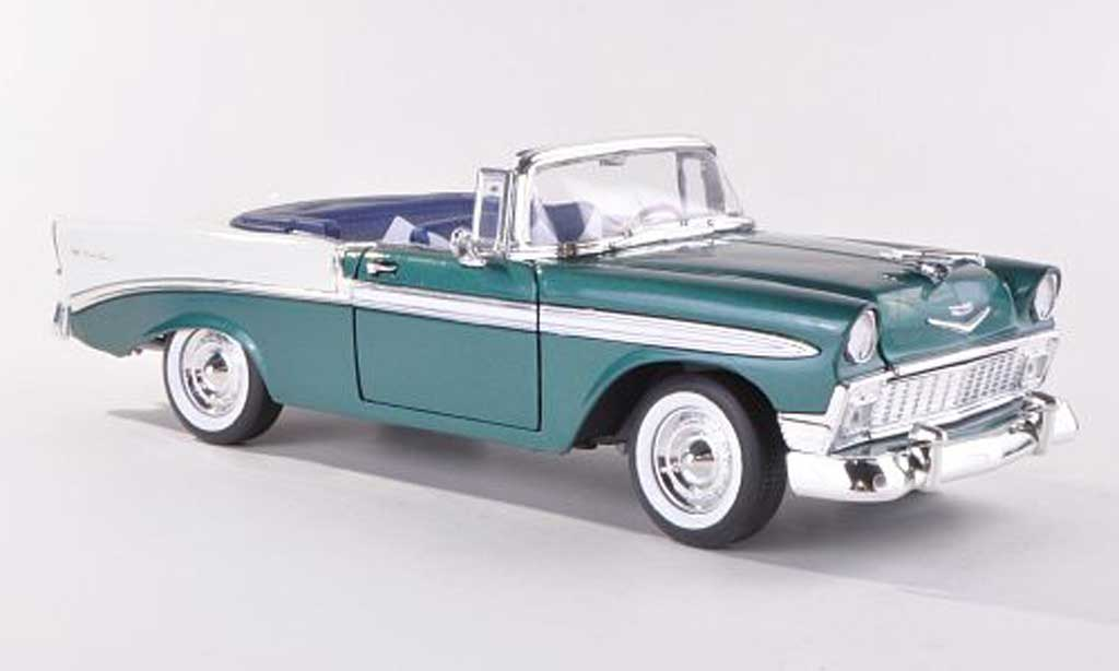 chevrolet bel air 1956 green white yat ming diecast model. Black Bedroom Furniture Sets. Home Design Ideas
