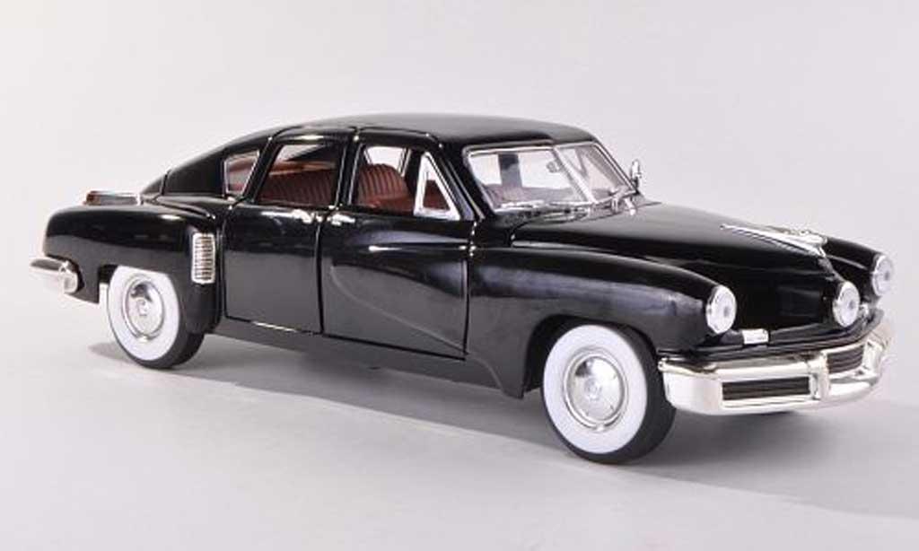 Tucker Torpedo 1/18 Yat Ming schwarz  1948 modellautos