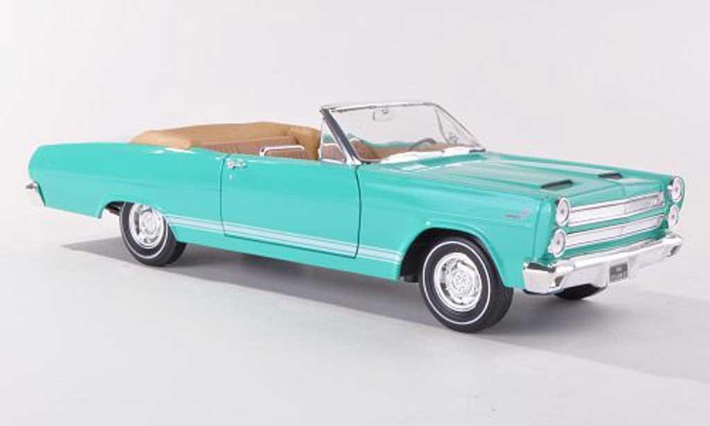 Mercury Cyclone 1/18 Yat Ming GT -turkis 1966 miniature