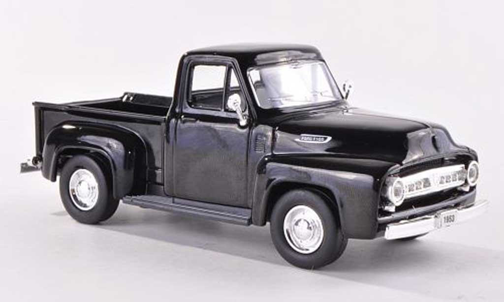 Ford F-100 1/43 Yat Ming F 100 Pick Up noire 1953 miniature